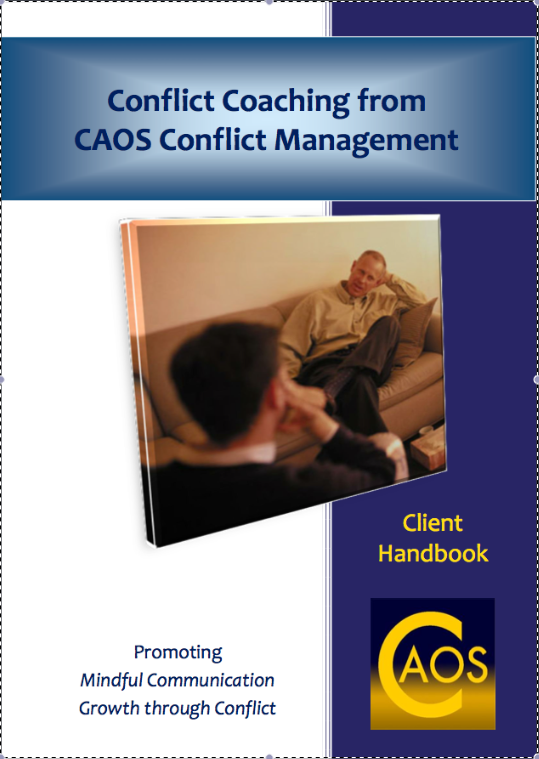 CAOS Conflict Coaching Clients handbook