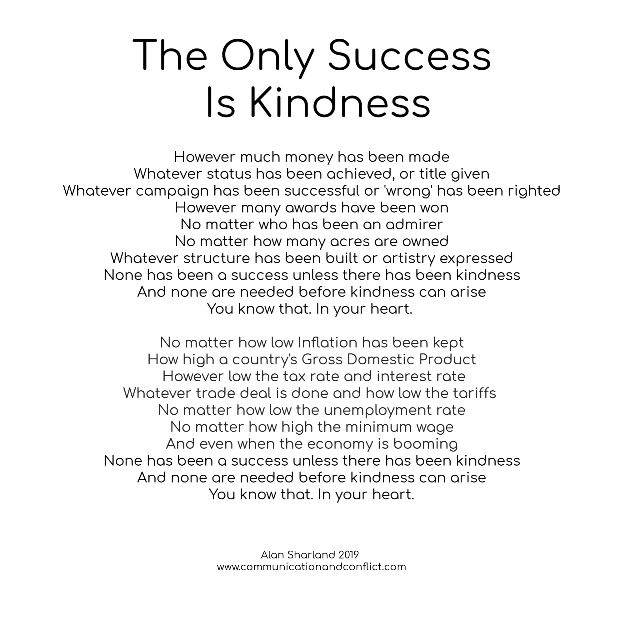 Kindness - communicationandconflict.com